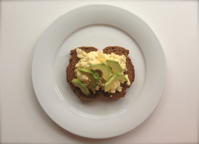 Breakfast of the Week: Avocado & Scrambled Egg on Toast